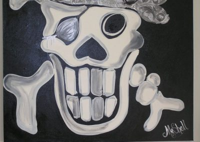 Captain Jack – Silver Bandanas