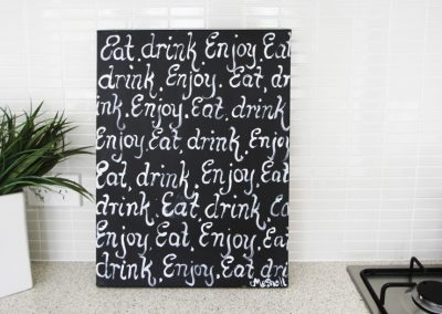 Chalkboard Series – Little Menu